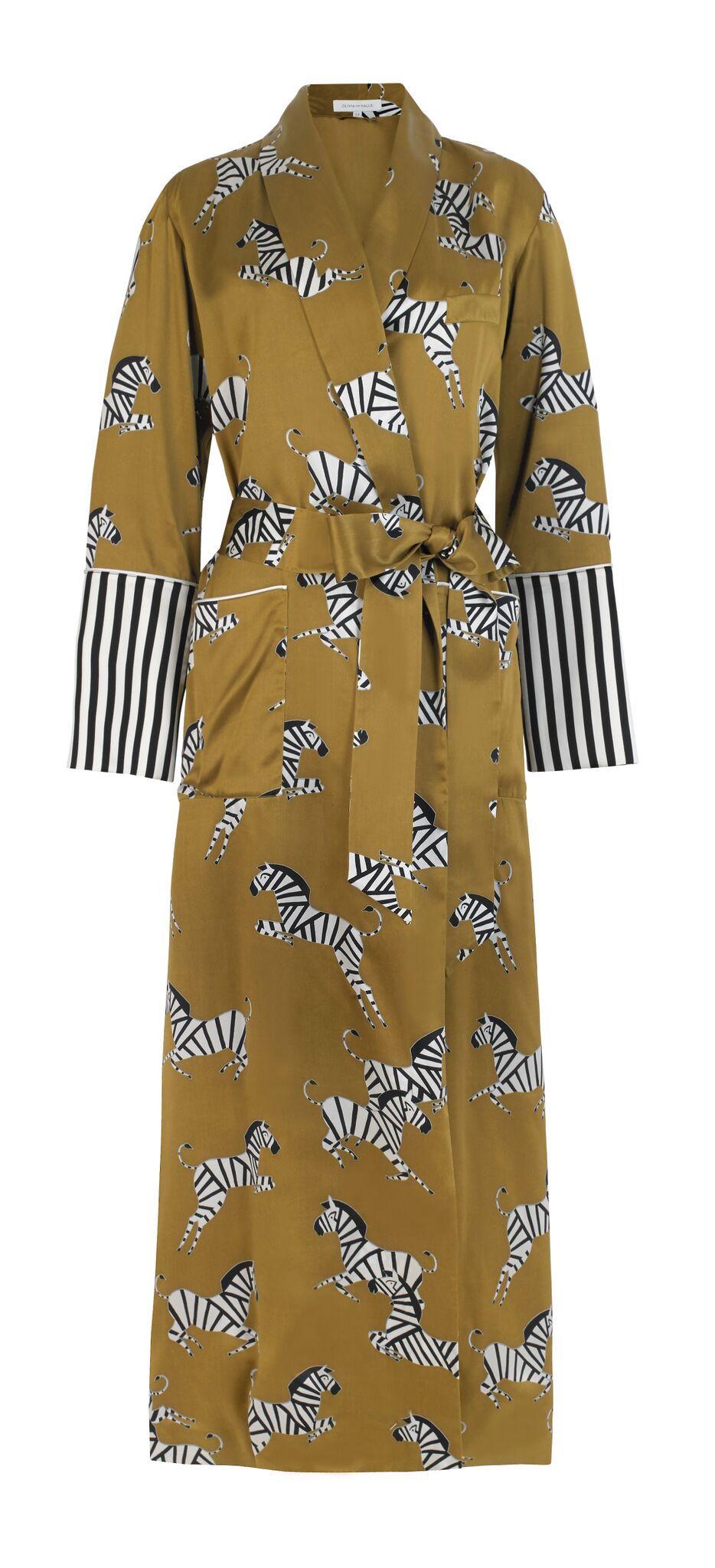 Olivia von Halle Capability Mona Silk Robe