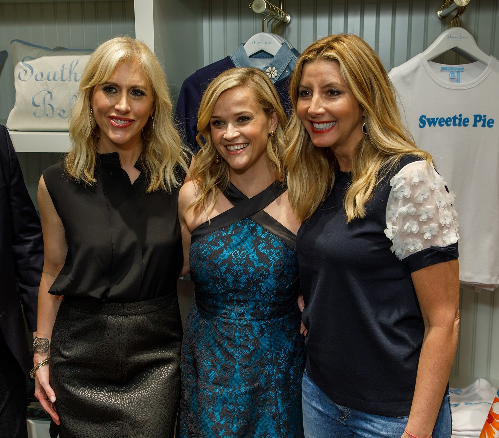 Emily Giffin, Reese Witherspoon, Sara Blakely