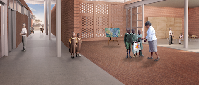 The Mwabwindo School in Zambia