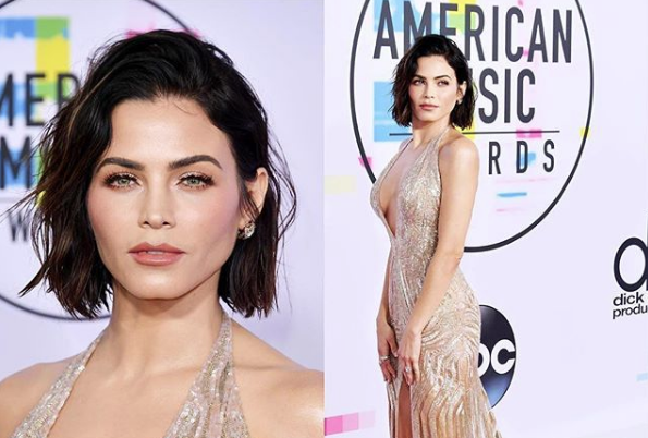 Jenna Dewan at the 2017 American Music Awards, color by George Papanikolas