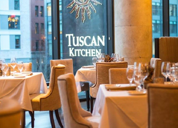 A Look Inside The Haute New Tuscan Kitchen Seaport
