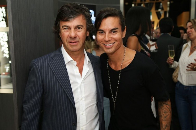 Ugo Colombo and Julio Iglesias Jr.