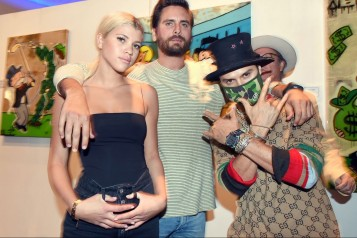 Sofia Richie, Scott Disick, Alec Monopoly