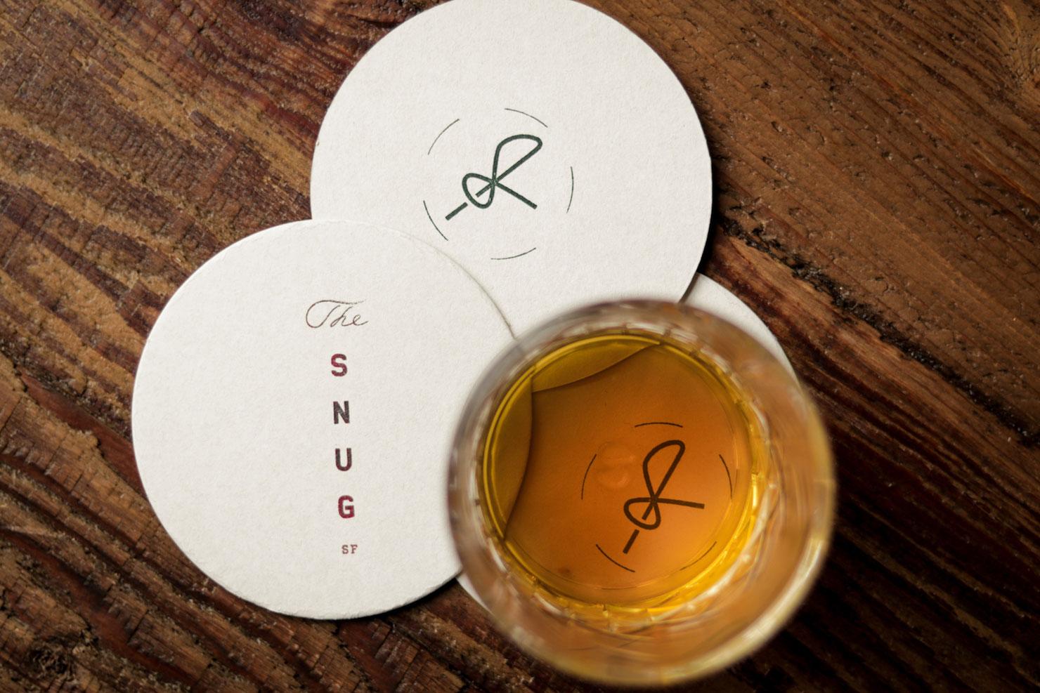 House-blended bourbon