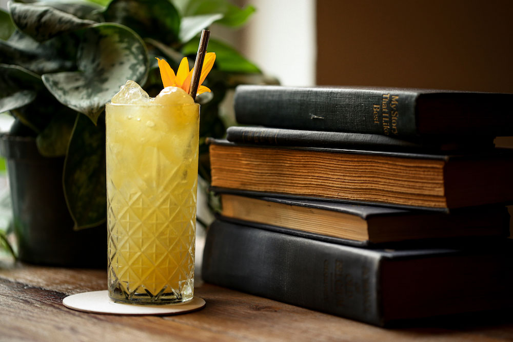The Yellow Rose cocktail