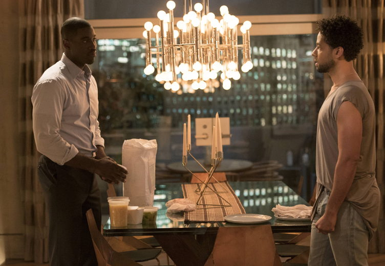 "Terrell Carter and Jussie Smollett in the ""Evil Manners"" episode of EMPIRE on FOX"