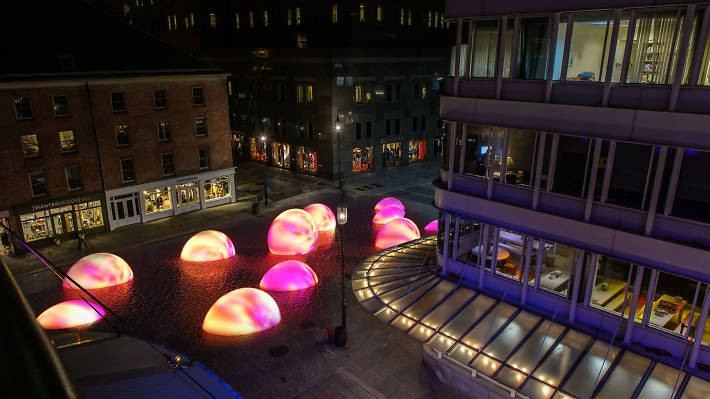 The Sea Of Light Opens At The Seaport District