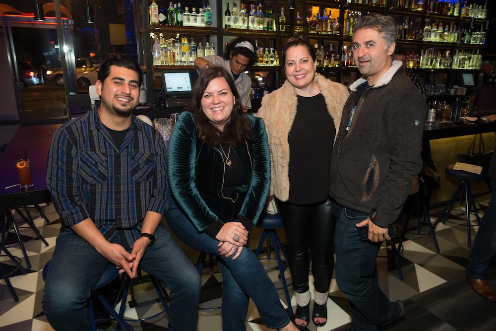 Rudy Ortiz, Anne Ward, Lindsay Stevens and Hooman Khalili