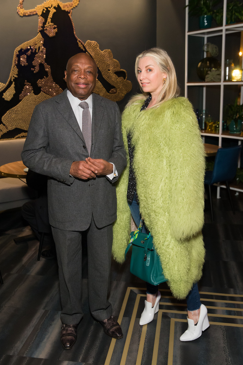 Willie Brown and Sonya Molodetskaya