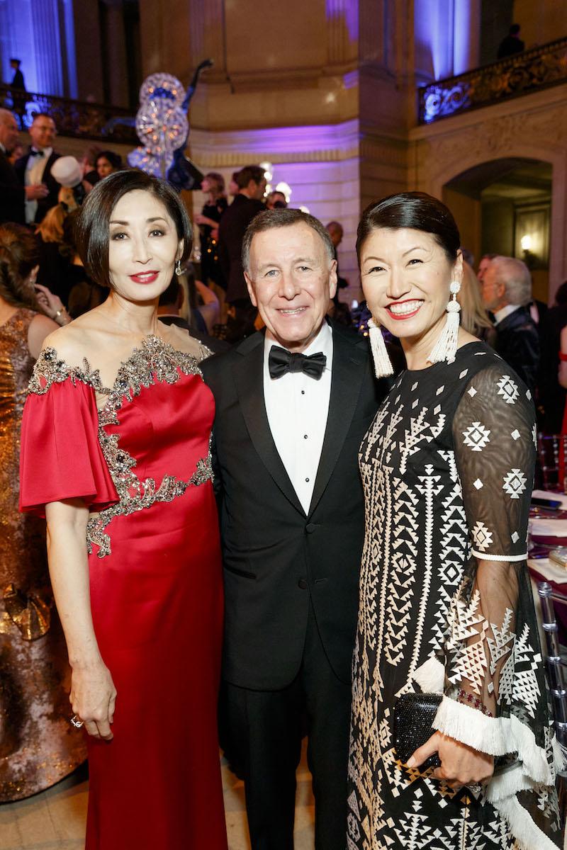 Yurie Pascarella, Carl Pascarella and Akiko Yamasaki