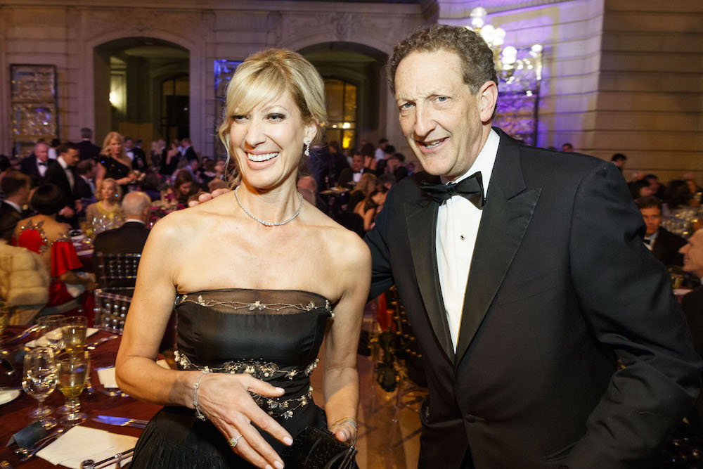 Janet Reilly and Larry Baer