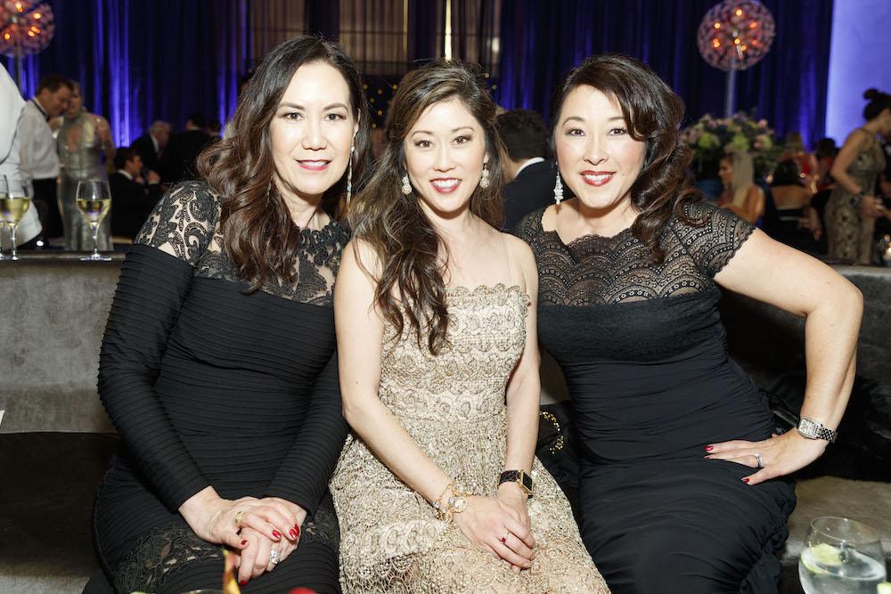 Nadine Orona, Kristi Yamaguchi and Lori Yamaguchi