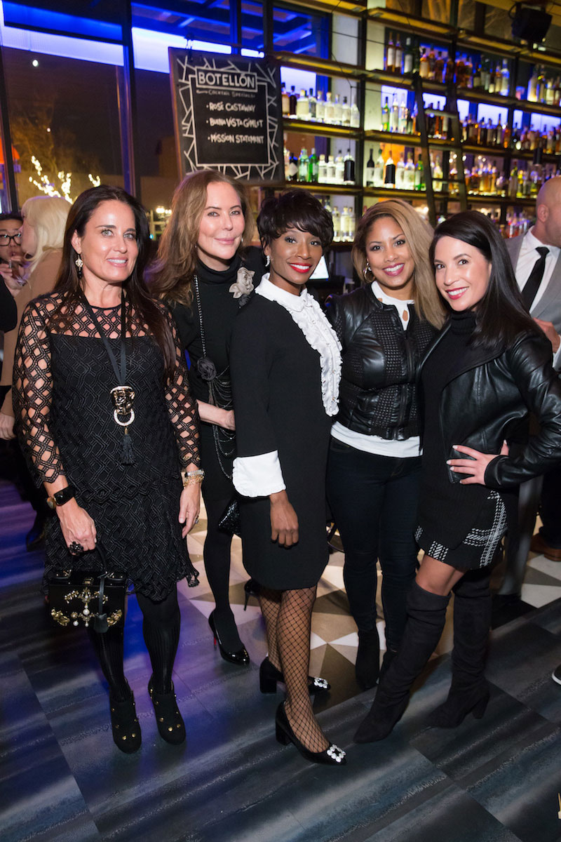 Natalia Urrutia, Margaret Mitchell, Pernella Sommerville, Angella Sprauve, Michelle Balance