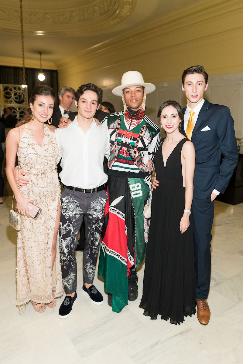 Angelo Greco, Solomon Golding, Jahna Frantziskonis and Nathaniel Remez