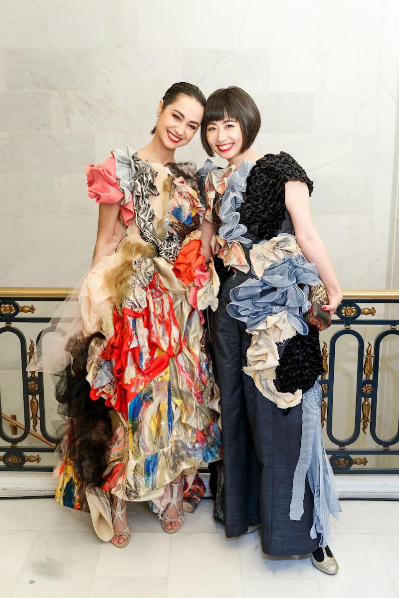 Mathilde Froustey and Yuka Uehara