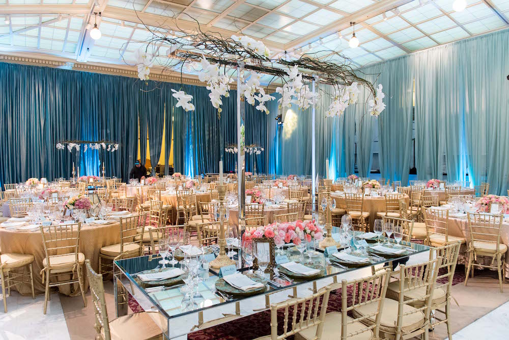 Another look at last year's sumptuous gala decor