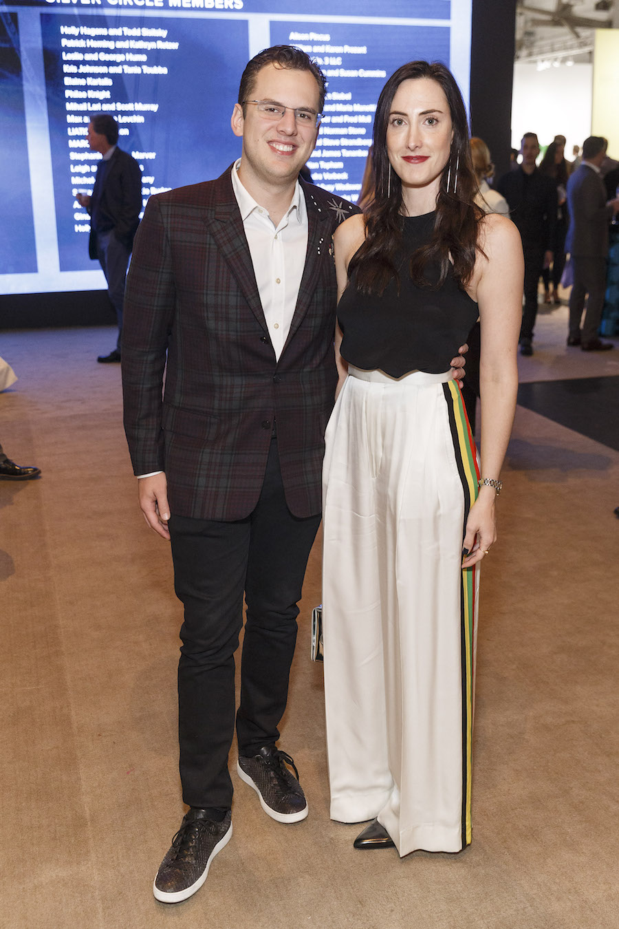 Mike Krieger and Kaitlyn Krieger