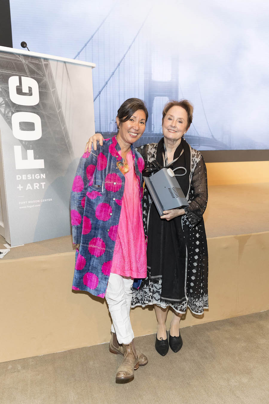 Christina Kim and Alice Waters