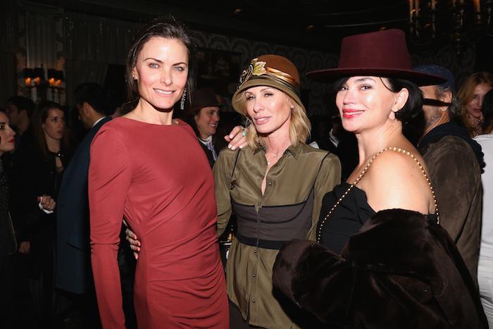 Tara Westwood, Carole Radziwill, and Karen Duffy