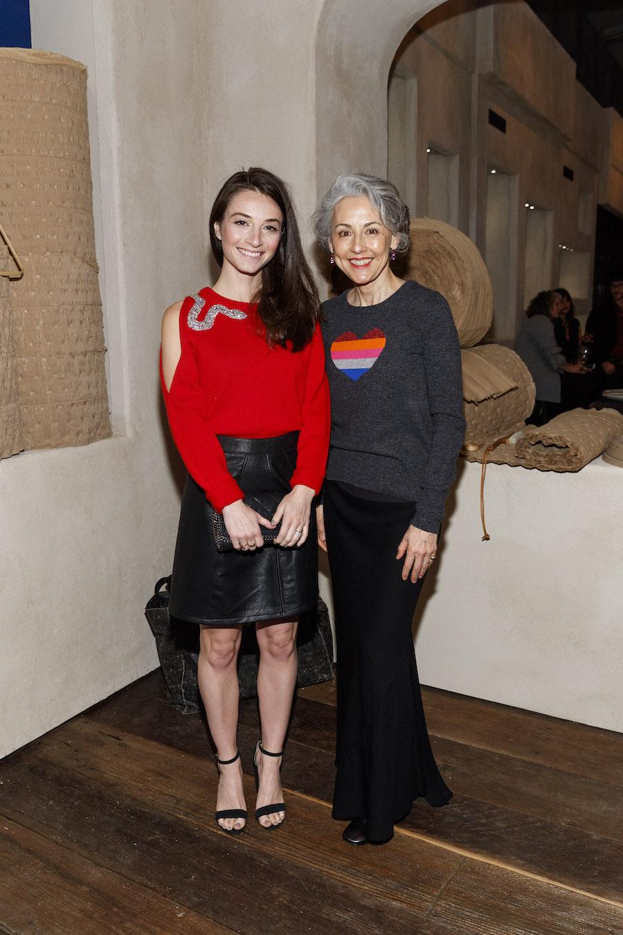 Jessica Slor and Sako Fisher