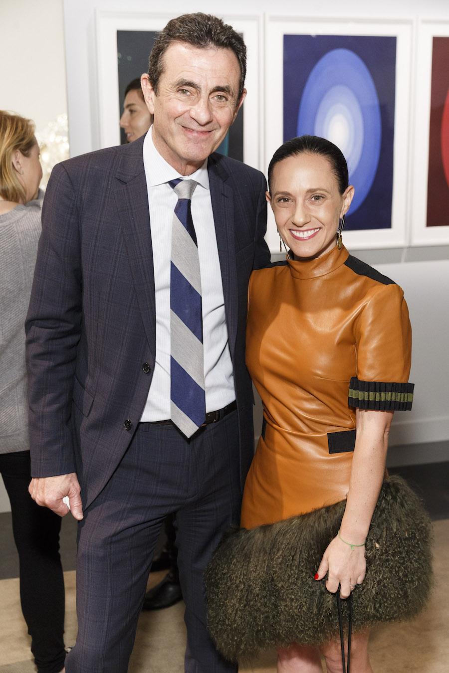 Neal Benezra and Becca Prowda