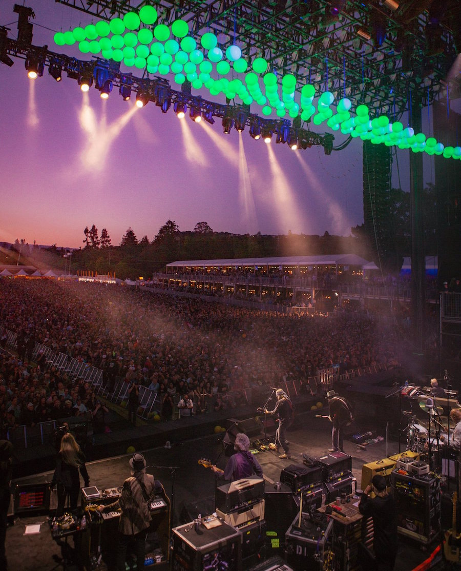 A scene from BottleRock 2017