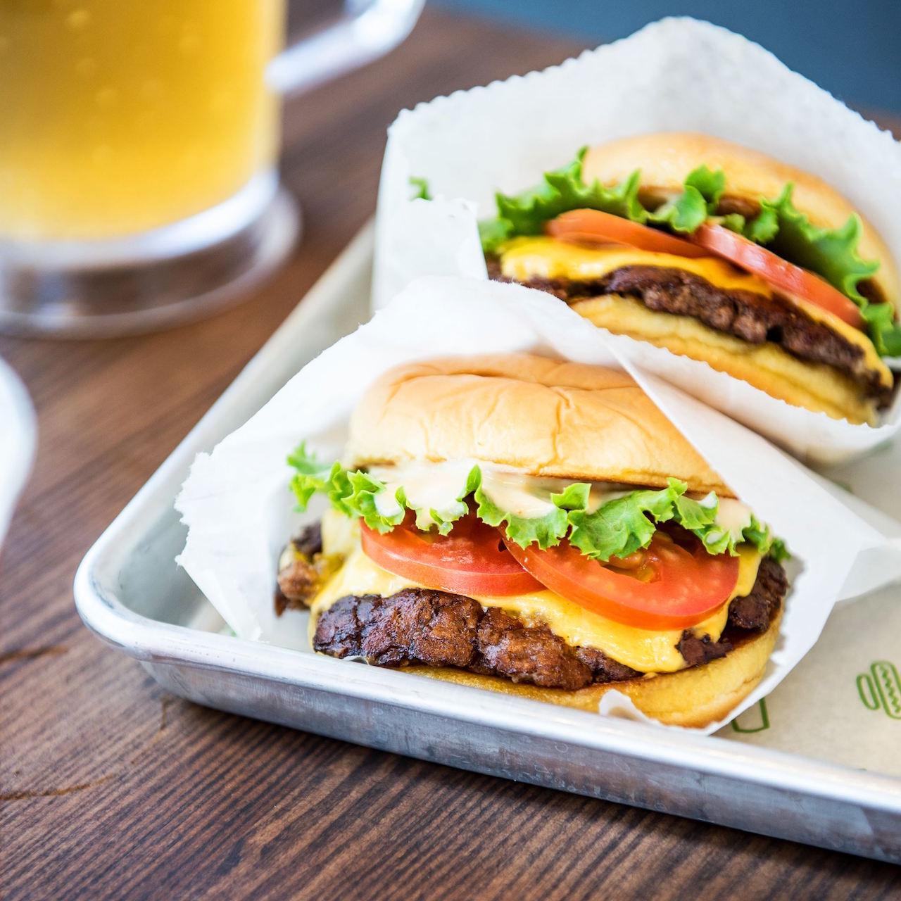 Burger deliciousness