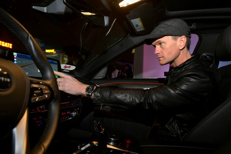 Neil Patrick Harris Rides Into The Future In A Self-Driving Car At CES
