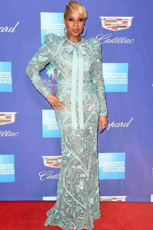 Mary J. Blige in Elie Saab