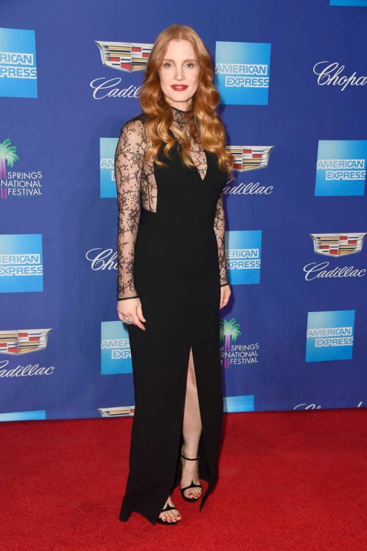 Jessica Chastain attends the 29th Annual Palm Springs International Film Festival Awards Gala