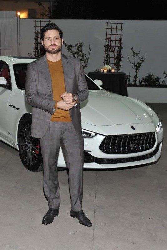 Edgar Ramirez attends Esquire and the Medavoys host a party to celebrate the Golden Globes, presented by Maserati on January 5 in Beverly Hills