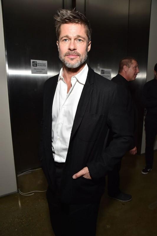 Brad Pitt attends the 7th Annual Sean Penn & Friends HAITI RISING Gala benefiting J/P Haitian Relief Organization