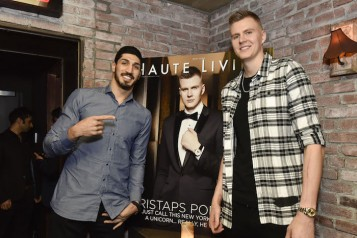 Haute Living Honors Kristaps Porzingis With Jaquet Droz
