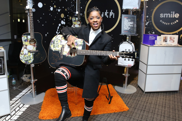 Bre-Z attends the GRAMMY Gift Lounge during the 60th Annual GRAMMY Awards at Madison Square Garden on January 26, 2018
