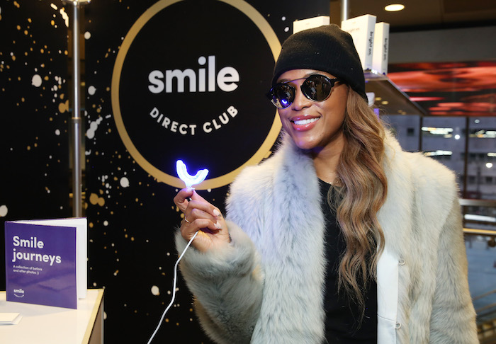 Rapper Eve attends the GRAMMY Gift Lounge during the 60th Annual GRAMMY Awards at Madison Square Garden on January 27, 2018 in New York City.