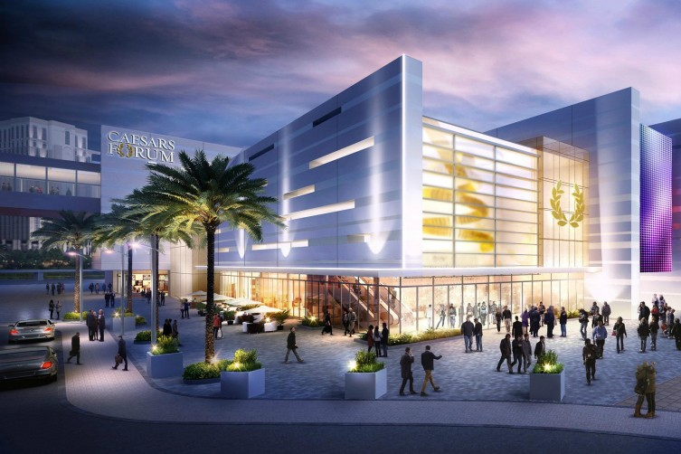 Caesars Entertainment To Open Extravagant Caesars Forum Convention Center