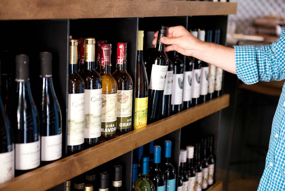 Compline sells a curated assortment of wines by the bottle