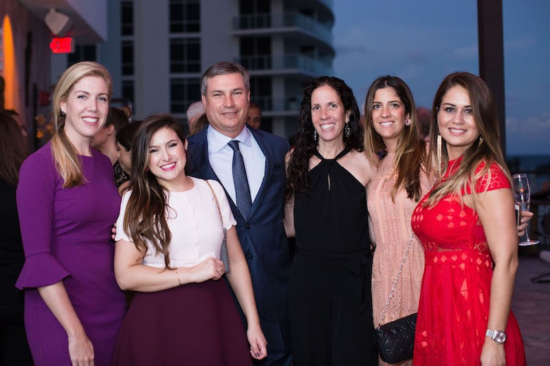 Courtney Greene, Alejandra Florez, Patrick Campbell, Wendy Marks, Valeria Lugo-Voto, Monica Martinez at The Related Group's Celebration of Argentine Art + Fashion