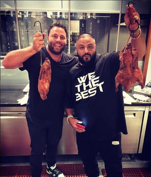 DJ Khaled at Komodo Duck Room