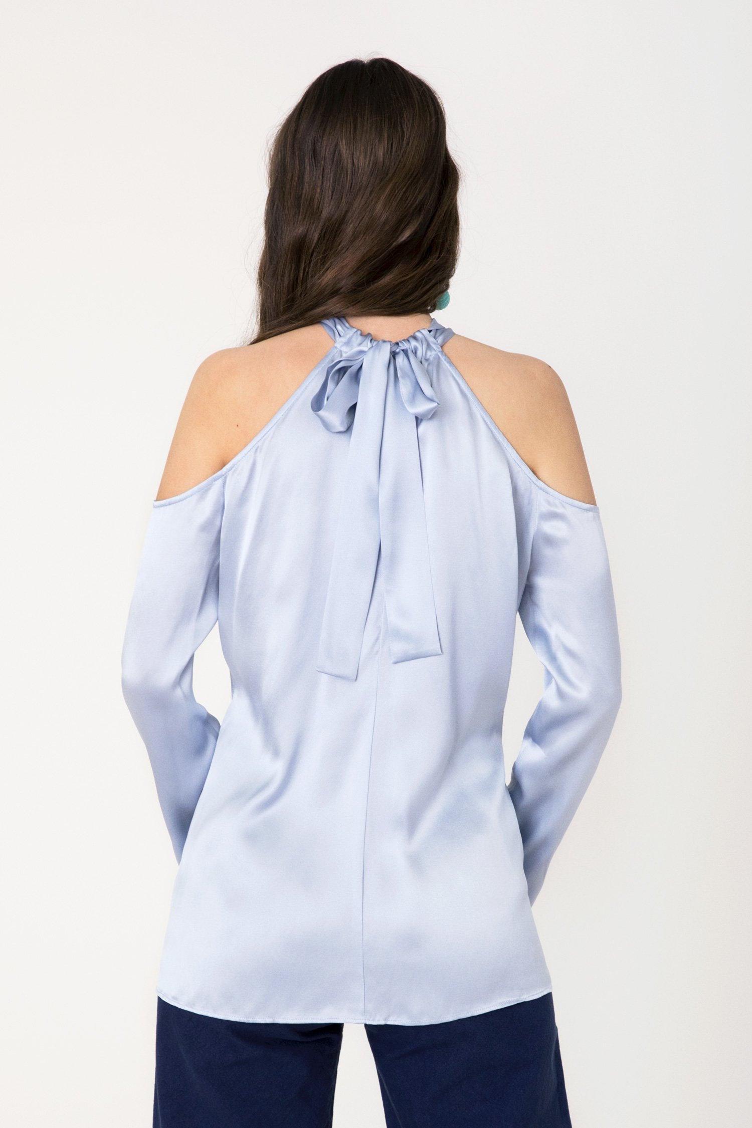 Frances Austen's drape shoulder blouse