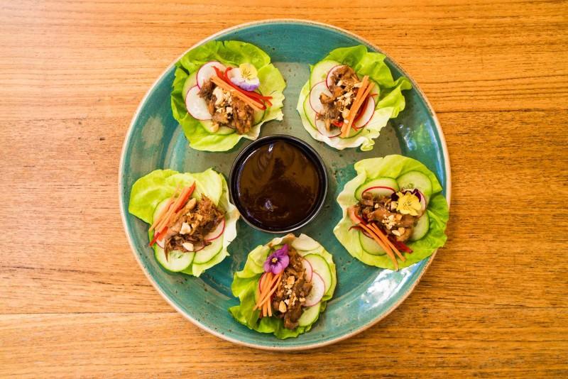 Duck Lettuce Wraps 2 Komodo