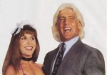Wendy Barlow and Ric Flair in 1993