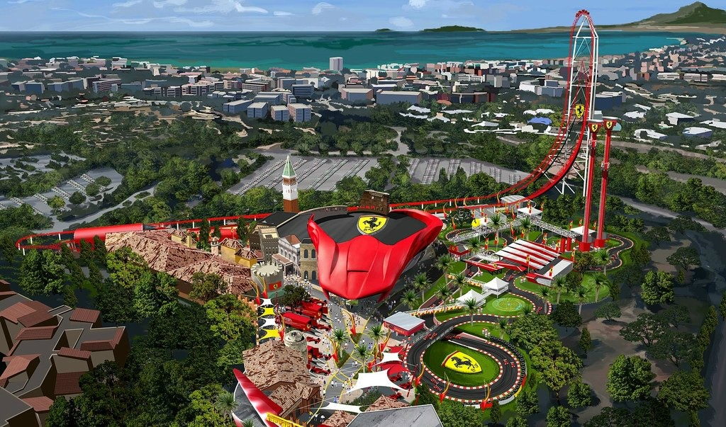 Ferrari Land Is Like Disneyland For Ferrari Aficionados