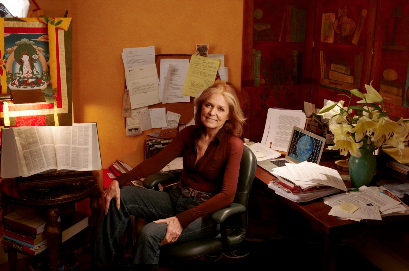Gloria Steinem in 2015