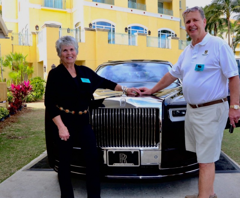 Auction winners of 2018 Rolls-Royce Phanton
