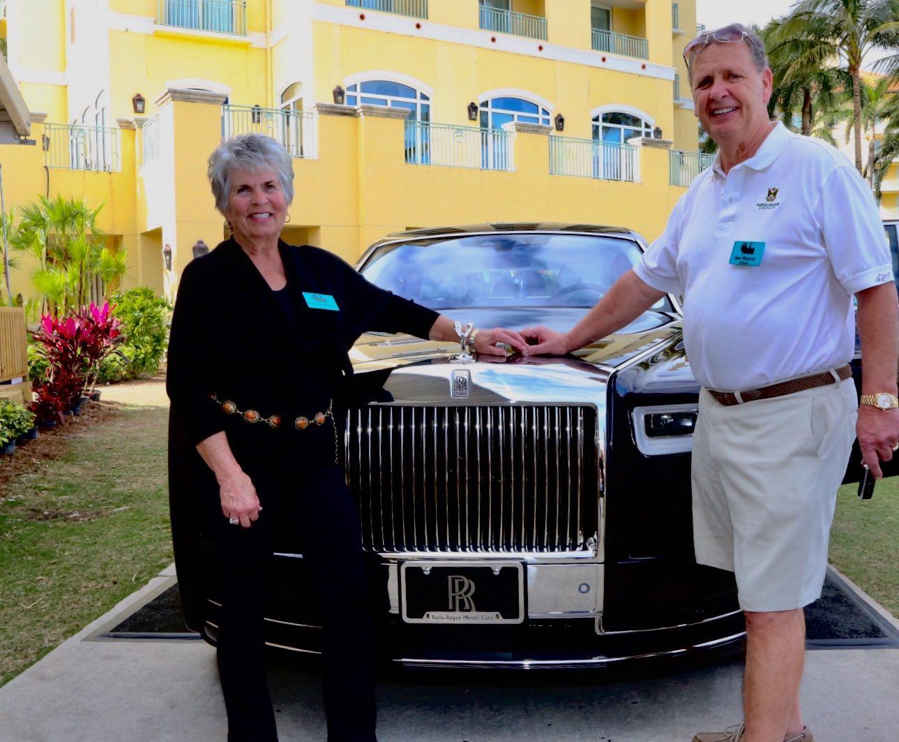 RollsRoyce Phantom Raises K For Charity At Naples Winter - Naples antique car show 2018