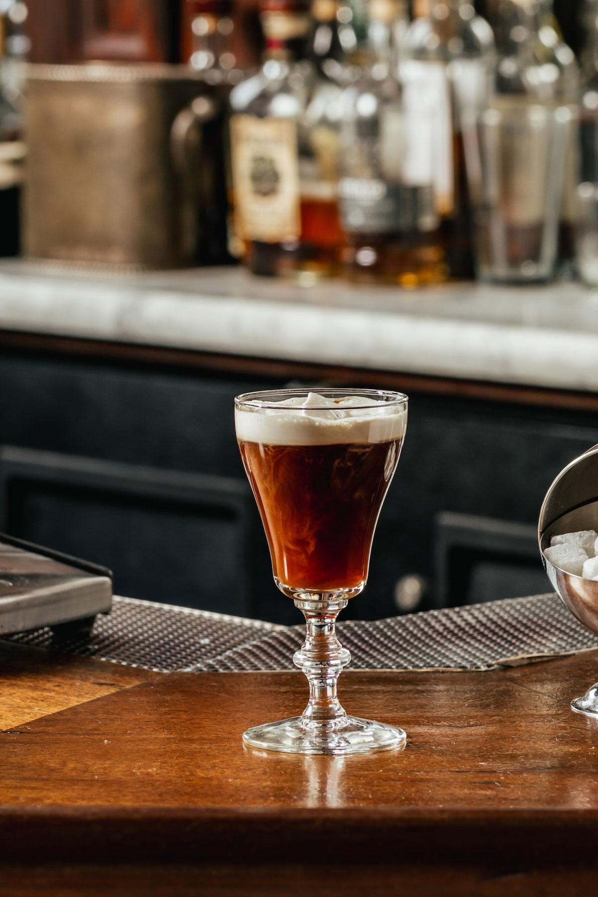 Raglin's Irish Coffee made with Mr. Espresso