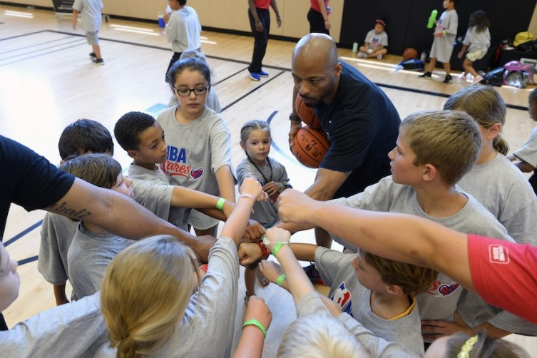 NBA And UNLV Basketball Players Are Coaching At Life Time Athletic