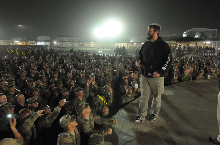 2013 USO Tour to Afghanistan