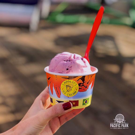 Pacific Park - Santa Monica Restaurant Week-Pomegranate Masala Ice Cream